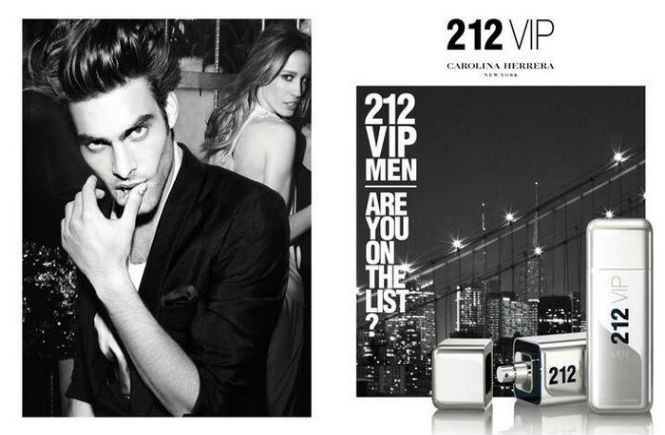 Perfume masculino 212 Vip Men
