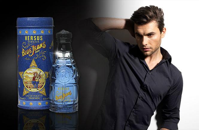 Perfume masculino Blue Jeans, da Versace