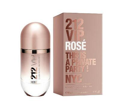 Perfume feminino 212 Vip Rose