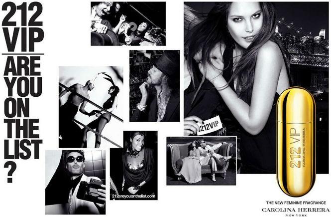 perfume 212 VIP, da Carolina Herrera