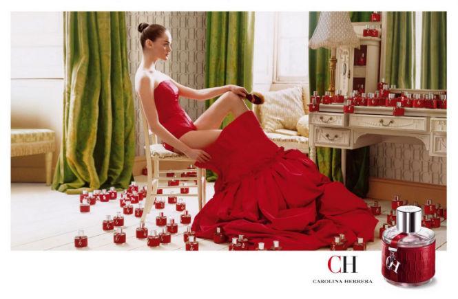 Perfume feminino CH