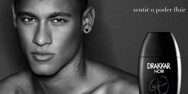 Neymar, Perfume Guy Laroche Drakkar Noir