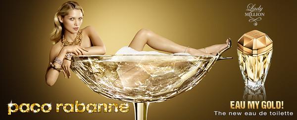 Eau my Gold Eau, da Paco Rabanne