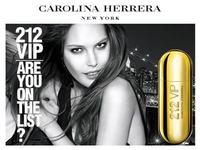 Perfume feminino 212 Vip