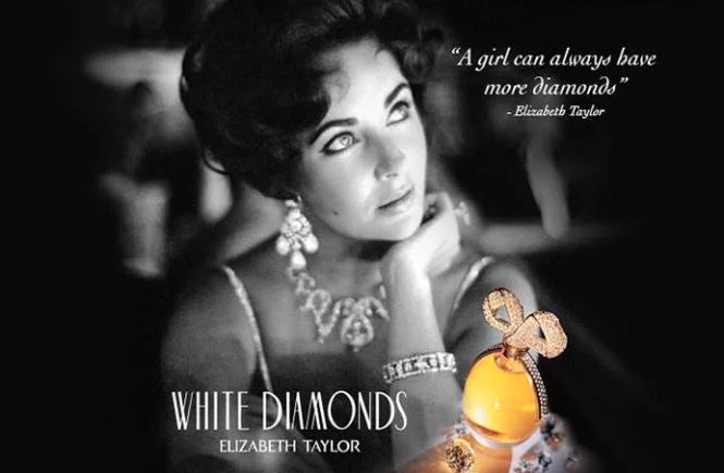Resenha do perfume feminino White Diamonds da Elizabeth Taylor