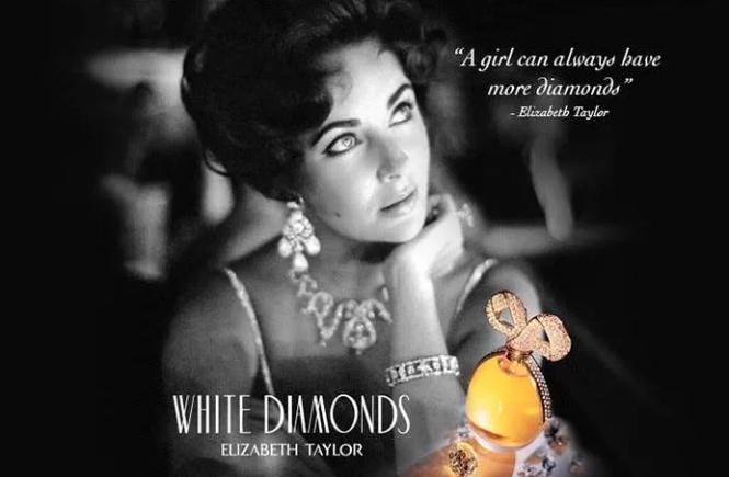 Resenha do perfume feminino White Diamonds da Elizabeth Taylor