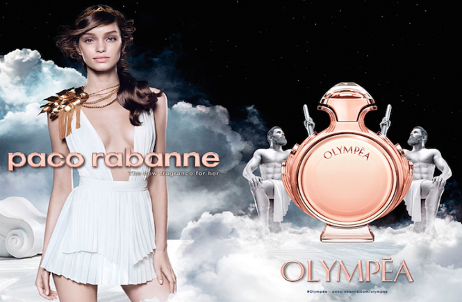 Perfume feminino Olympéa, da Paco Rabanne