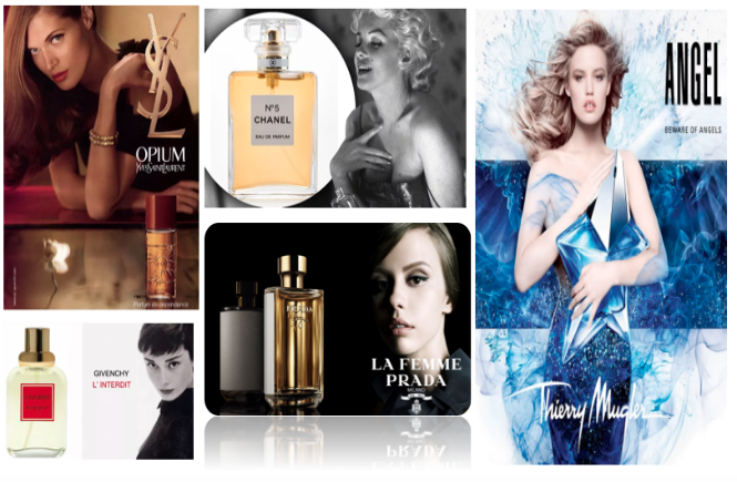 perfumes femininos mais icônicos de todos os tempos