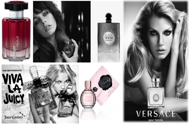 perfumes femininos importados mais usados no Brasil