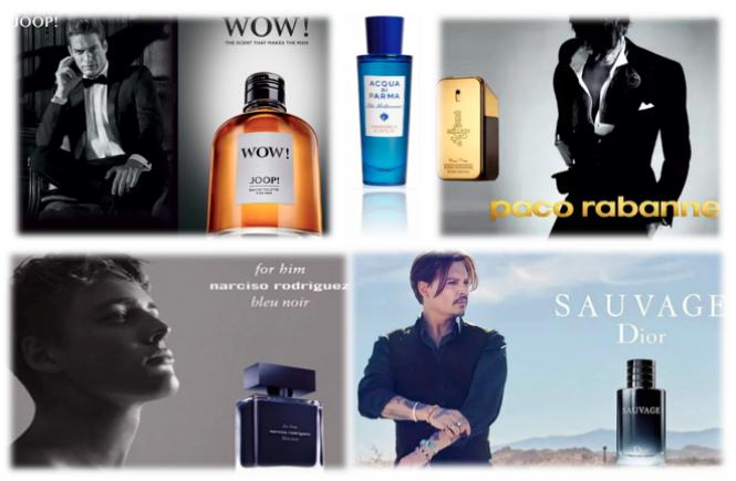 Perfumes mais populares para homens em 2018