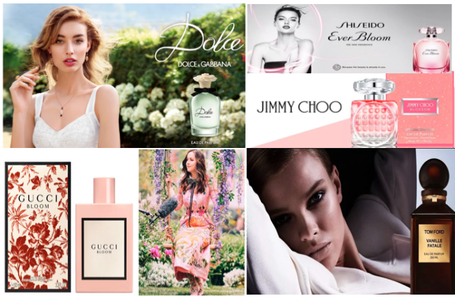 Perfumes mais populares para mulheres em 2018