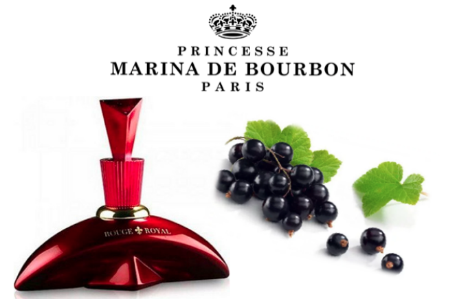 Perfume feminino Rouge Royal, da Marina de Bourbon