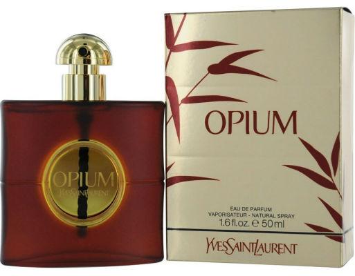 perfume feminino YSL Opium, de Yves Saint Laurent