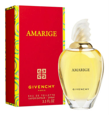 perfume feminino Amarige da Givenchy
