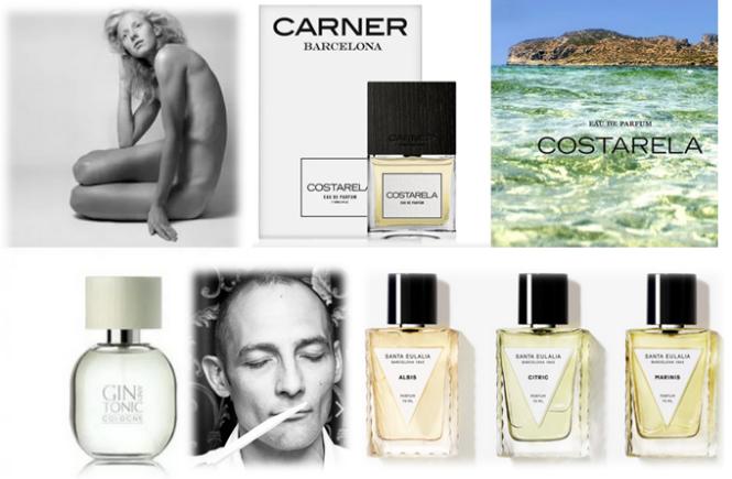 perfumes com cheiro de praia