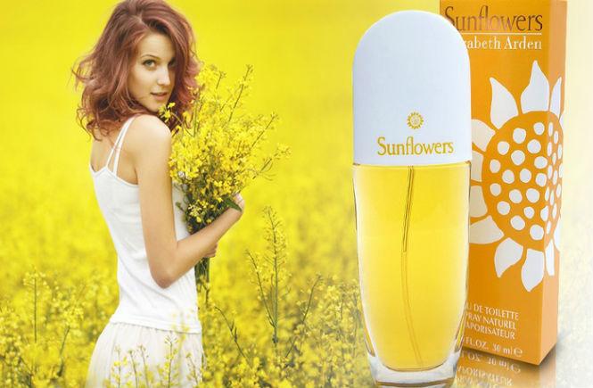 Resenha do Perfume feminino Sunflowers da Elizabeth Arden