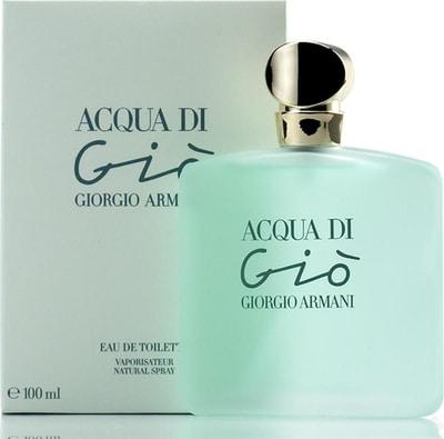 perfume feminino Acqua Di Gio da Giorgio Armani