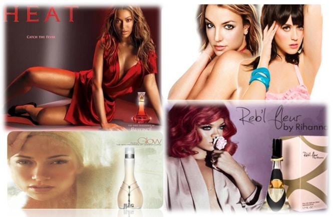 As melhores fragrâncias de pop stars para mulheres