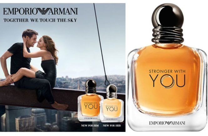 Resenha do perfume masculino Stronger With You da Giorgio Armani