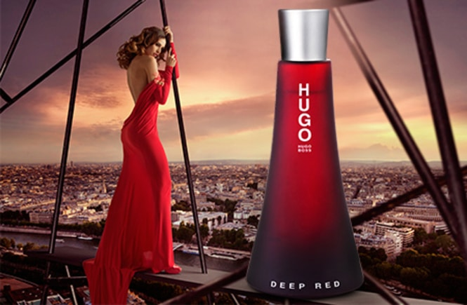 Resenha do perfume feminino Hugo Boss Deep Red